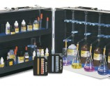 These outfits are packaged in cases made of rugged ABS plastic in sizes to fit three to five burets and accessories.