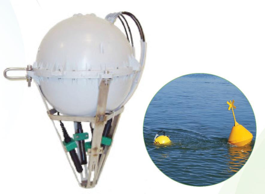 Measurement up to 8 parameters : Temperature, pH, ORP, Oxygen, conductivity, salinity, turbidity..