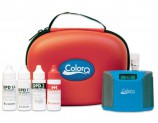 The ColorQ Pool 4 measures four basic pool and spa tests, Free Chlorine (0 to 10 ppm); Total Chlorine (0 to 10 ppm); Bromine (0 to 22 ppm) and pH (6.5 to 8.5 pH).