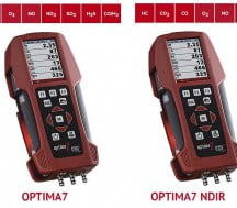 OPTIMA7 NDIR: Handheld multigas analyser for petrol or diesel engine exhaust gas measurements